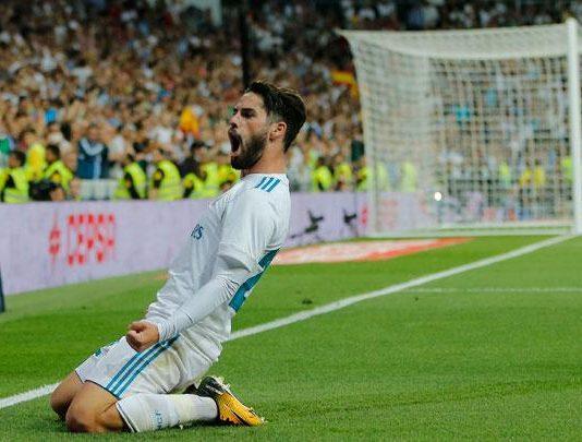 Gelandang Real Madrid Isco
