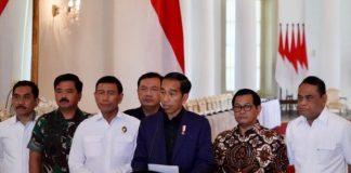 Presiden Joko Widodo menegaskan bahwa negara tidak akan pernah memberikan ruang sedikit pun bagi terorisme di Indonesia.