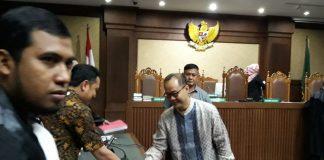 Mantan Ketua Badan Penyehatan Perbankan Nasional (BPPN) Syafruddin Arsyad Temenggung