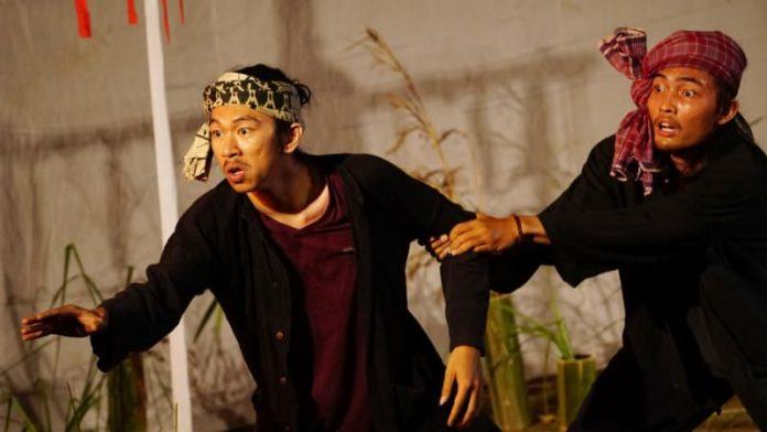 Teater Peran Petani 'Sawah di Kepala'