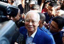 Mantan Perdana Menteri Najib Razak