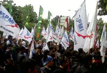 Demo Buruh KSPI