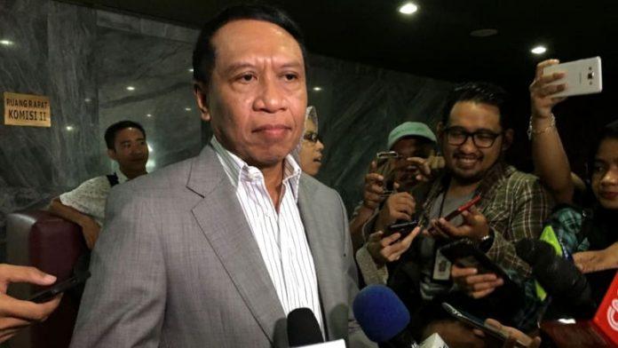 Ketua Komisi II Zainuddin Amali