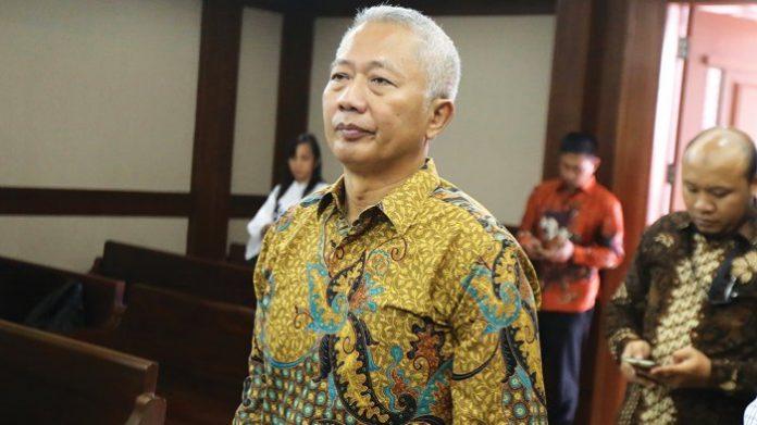 Mantan Direktur Jenderal Perhubungan Laut Kementerian Perhubungan Antonius Tonny Budiono