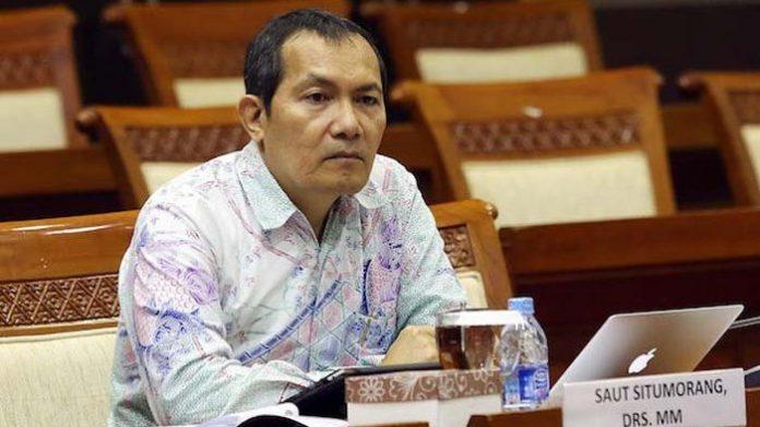 Wakil Ketua Komisi Pemberantasan Korupsi (KPK), Saut Situmorang