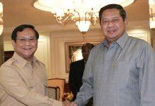 Sby dan Prabowo bakal bertemu bahas koalisi di pilpres