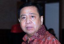 Mantan Ketua DPR Setya Novanto