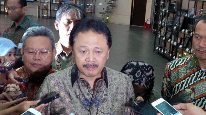 Direktur Utama Bursa Efek Indonesia (BEI) Tito Sulistio