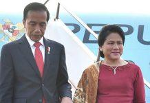 Presiden RI Jokowidodo Dan Iriana Jokowi