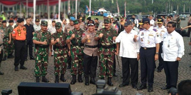 Kapolri dan Panglima TNI pimpin gelar pasukan operasi ketupat 2018