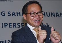 Direktur Utama PT Bank Mandiri (Persero) Tbk Kartika Wirjoatmodjo