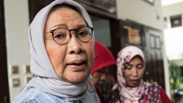 Ketua Gerakan Selamatkan Indonesia (GSI), Ratna Sarumpaet