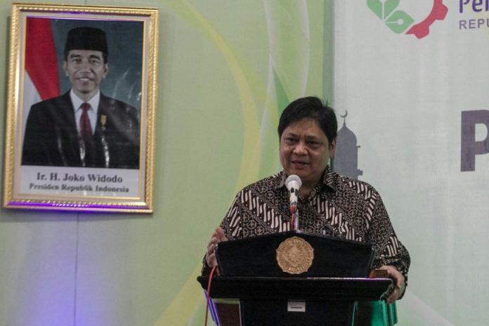 Menteri PerindustrianAirlangga Hartarto
