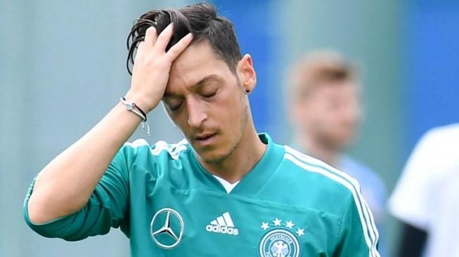 Gelandang Timnas Jerman Mesut Oezil