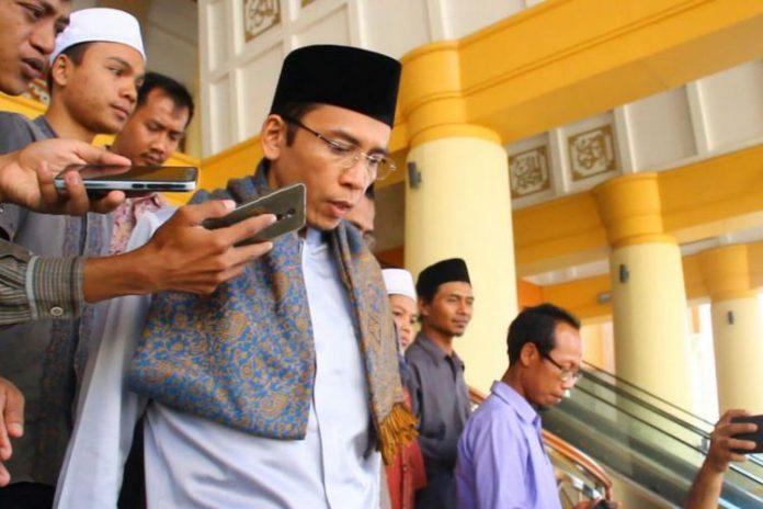 Gubernur Nusa Tenggara Barat (NTB) Tuan Guru Bajang Zainul Majdi
