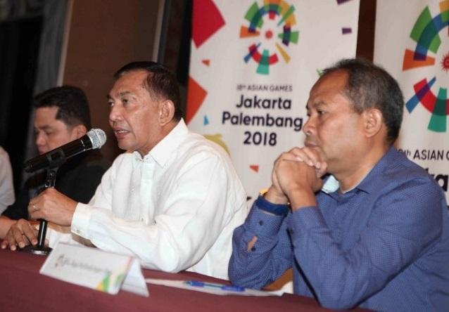 Wakil Ketua Inasgoc Syafrie Syamsudin