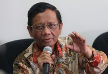 Mantan Ketua Mahkamah Konstitusi Mahfud MD