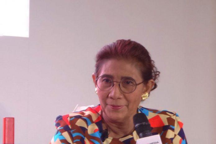 Menteri Kelautan dan Perikanan Susi Pudjiastuti