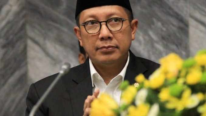 Menteri Agama Republik Indonesia (Menag RI) Lukman Hakim Saifuddin