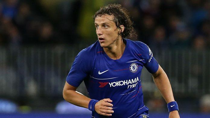 Bek asal Brasil David Luiz