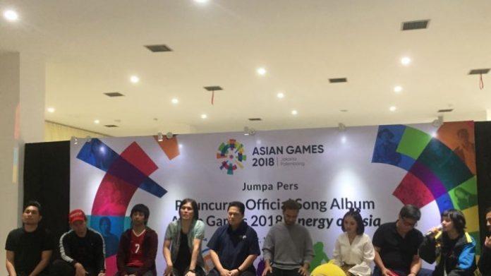 INASGOC Luncurkan Album Asian Games 2018