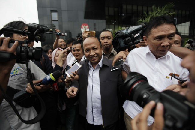 Sekretaris Jenderal Kemendes PDTT Anwar Sanusi