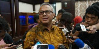 Ketua Komisi Pemilihan Umun (KPU) Arief Budiman