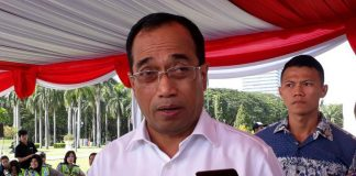 Menteri Perhubungan (Menhub)Budi Karya Sumadi