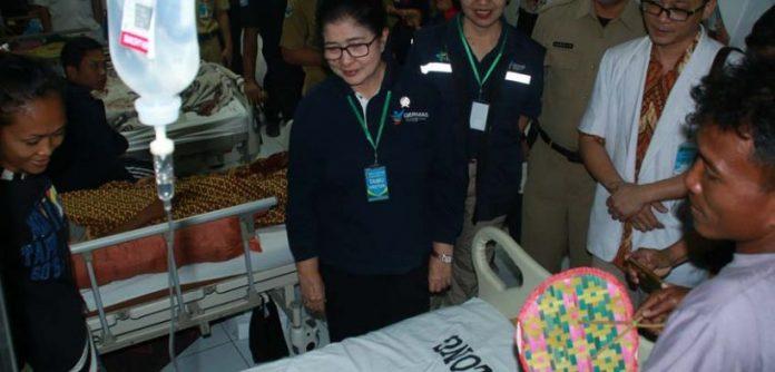 Menteri Kesehatan RI, Nila F. Moeloek