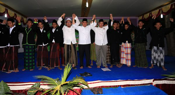 Laskar Santri Dukung Jokowi