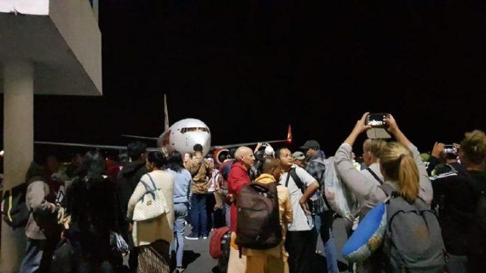 Kondisi Bandara di Lombok