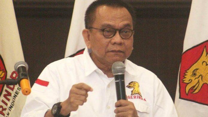 Ketua DPD Gerindra DKI Jakarta M Taufik