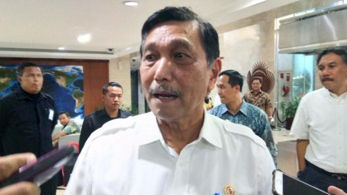 Menteri Koordinator Bidang KemaritimanLuhut Binsar Pandjaitan