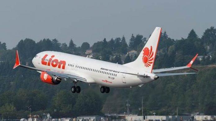 Pesawat Lion Air PK-LQP.