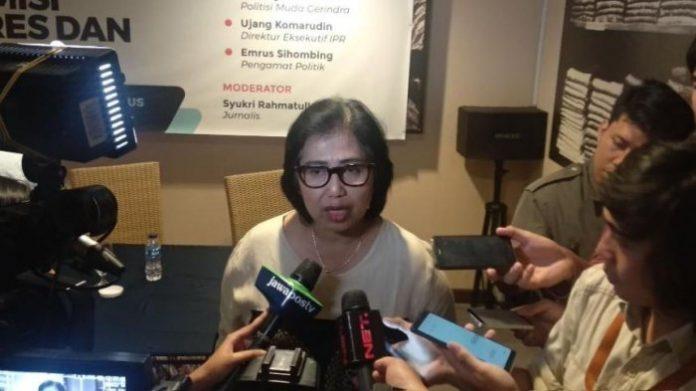 Juru Bicara TKN Jokowi-Maruf, Irma Suryani.