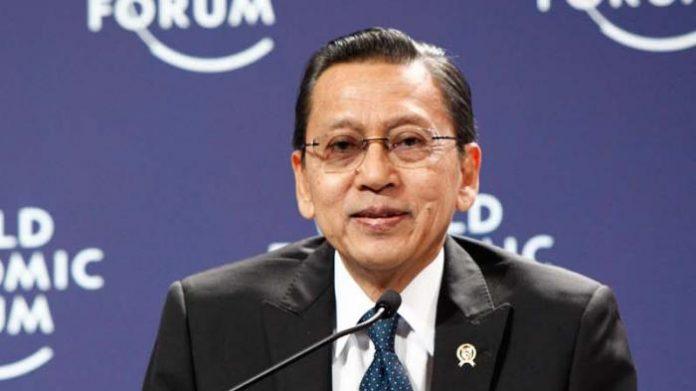 Mantan Wakil Presiden Boediono