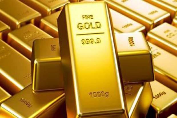 emas melemah