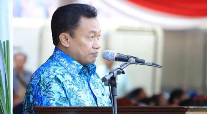 PLT Direktur Jendral Guru dan Tenaga Pendidikan Hamid Muhammad