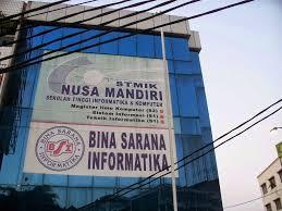 Sekolah Tinggi Manajemen Informatika dan Komputer (STMIK) Nusa Mandiri Jakarta