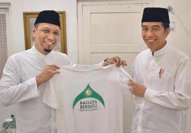 Irfan Wahid dan Joko Widodo.