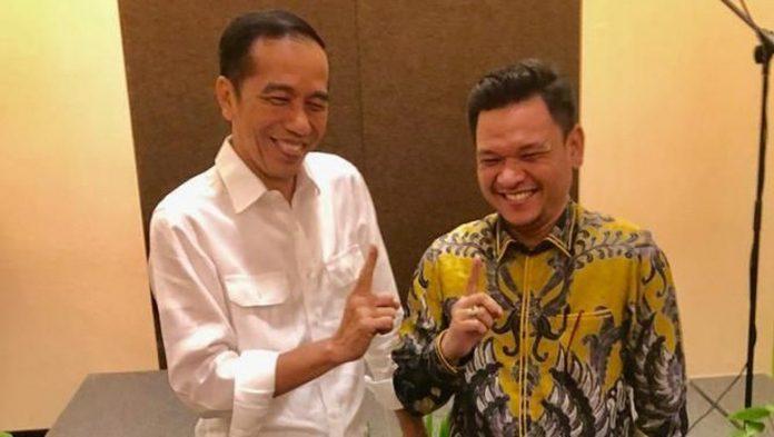 Jokowi dan Ace Hasan.