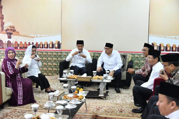 Presiden Jokowi Berdiskusi soal Islam Moderat dengan Quraish Shihab