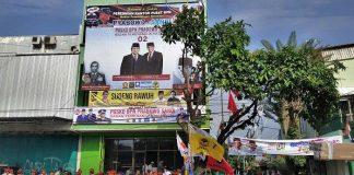 Posko Prabowo Sandi di Solo.