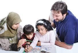 ilustrasi sekolah keluarga