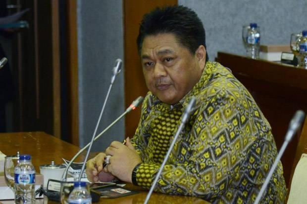 Ridwan Hisyam (Ketua Komisi VII DPR RI) saat menjadi nara sumber.