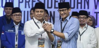 Prabowo Subianto-Sandiaga Uno.