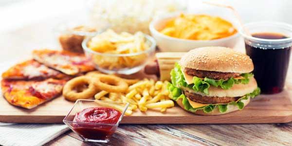 Ilustrasi Makanan Modern.