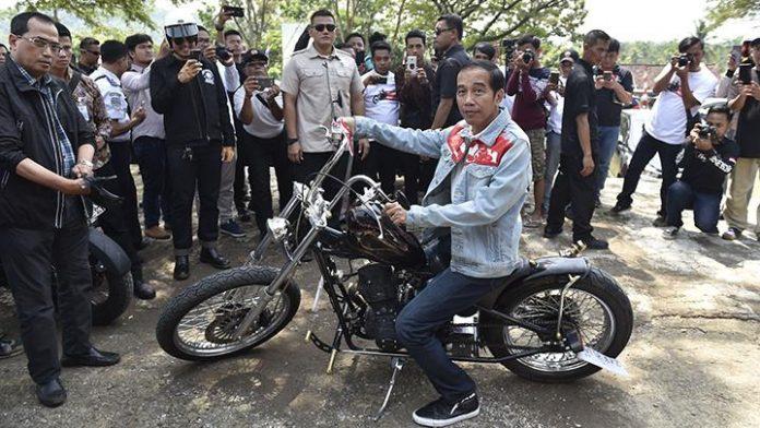 Penampilan Kece Pak Jokowi.