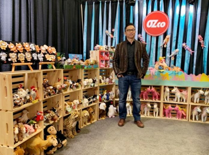 Boneka OZco Produksi Indonesia.