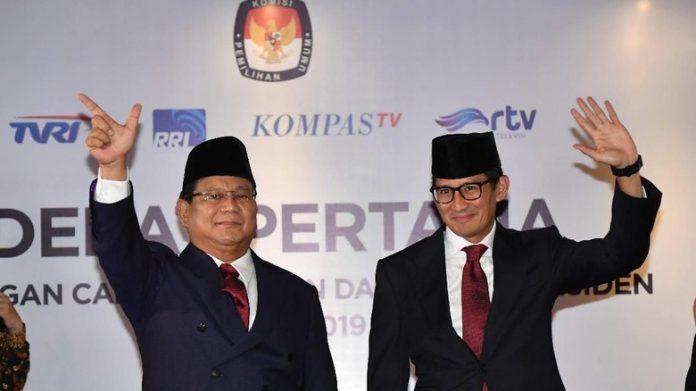 Prabowo Sandiaga.